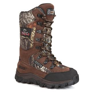 Kids' Rocky Lynx Snakeproof Velcro WP Brown / Mossy Oak Break-Up
