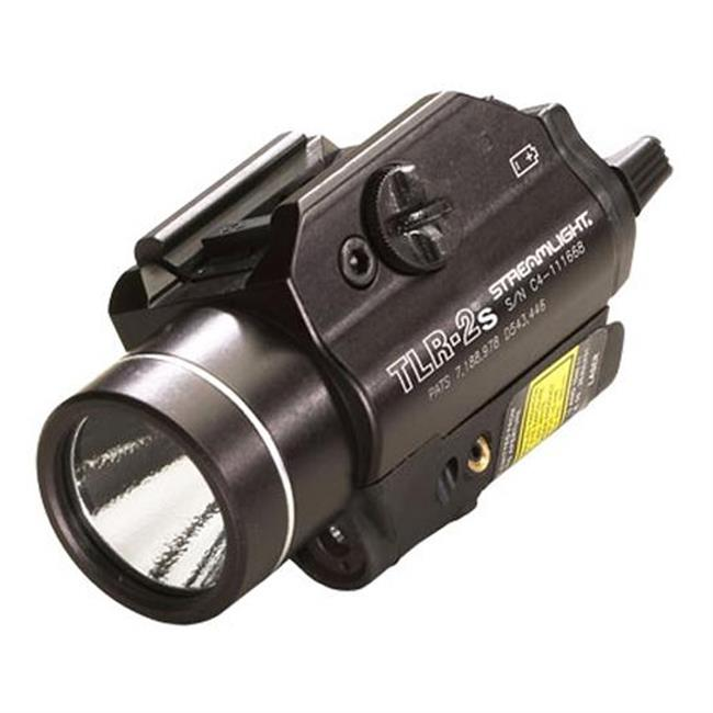 Streamlight TLR-2S Rail Mounted Strobing Tactical with Laser Sight Black