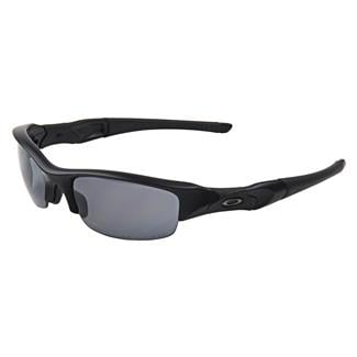 Oakley SI Flak Jacket Black Gray Polarized