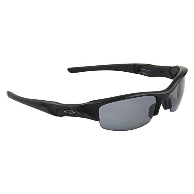 Oakley SI Flak Jacket Black Gray Polarized