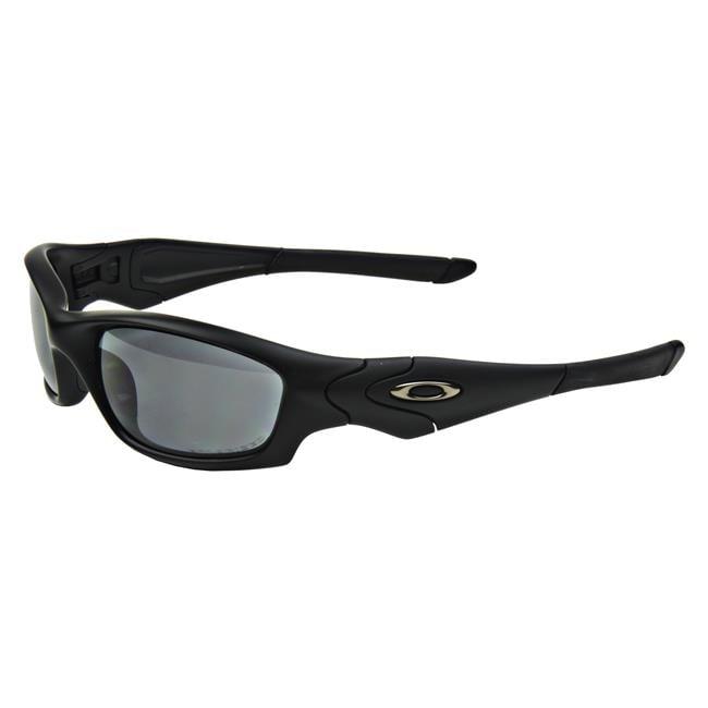 Oakley SI Straight Jacket Black Gray Polarized