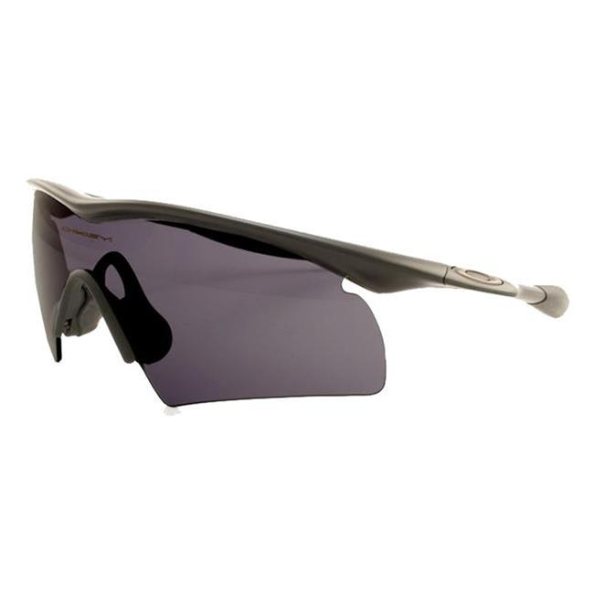 Oakley SI M-Frame Hybrid Black Gray Polarized