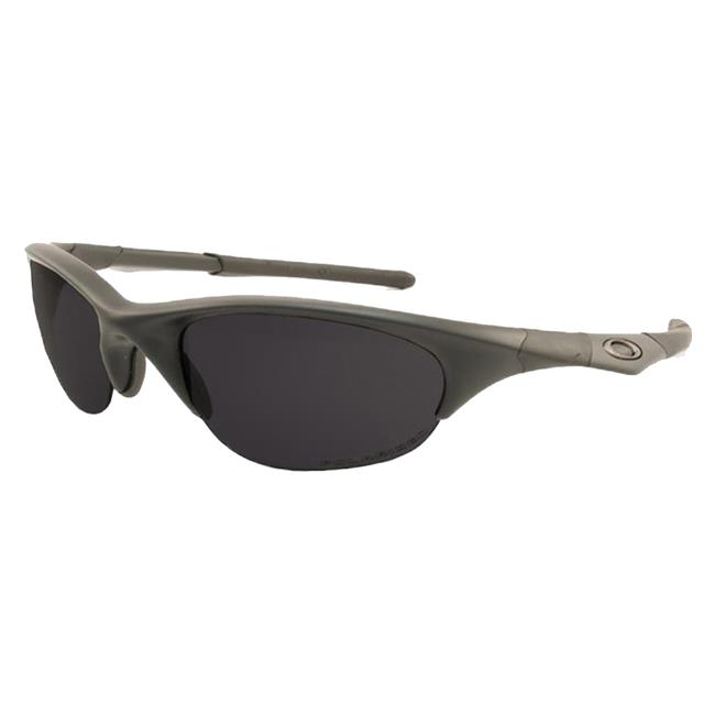 Oakley SI Half Jacket Black Gray Polarized