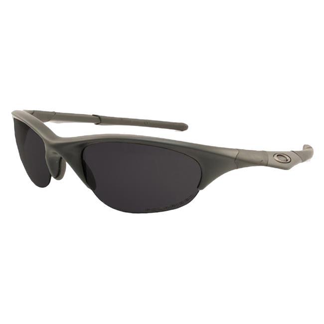 Oakley SI Half Jacket Black Gray Polarized