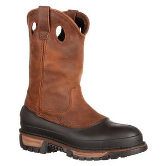 "Georgia 11"" Mud Dog Comfort Core Pull-On ST WP Georgia Brown"