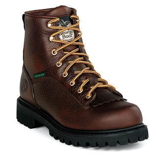 "Georgia 6"" Low-Heel Logger WP Wild Copper"