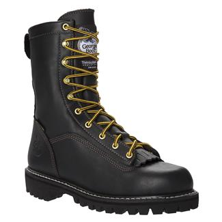 "Georgia 8"" Low-Heel Logger GTX WP 200G Black"