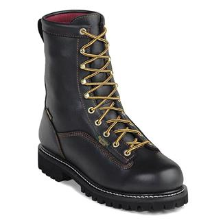 "Georgia 8"" Low-Heel Logger GTX 200G ST WP Black"