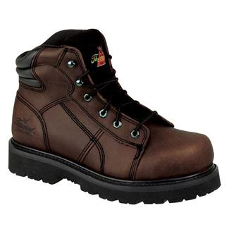 """Thorogood 6"""" Semi-Oblique Sport Lace-To-Toe ST Brown"""