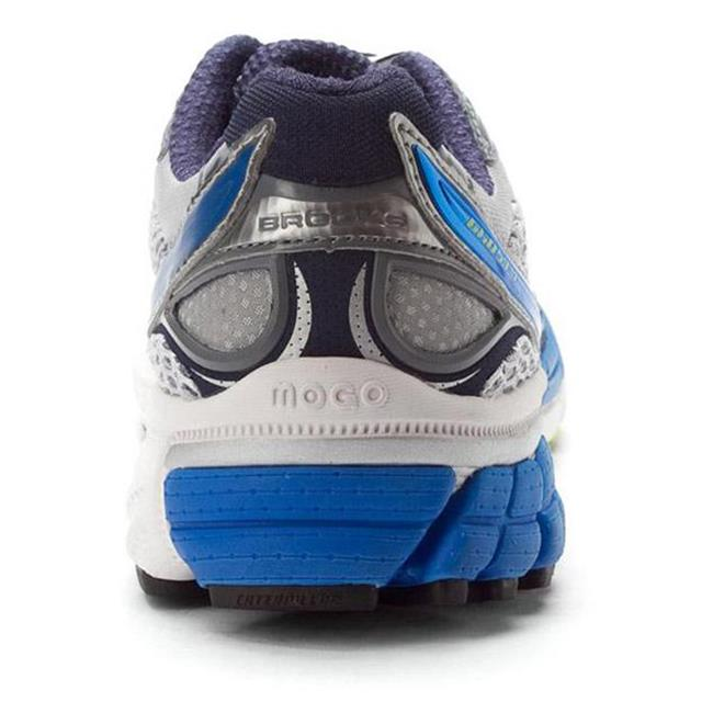 Brooks Ghost 4 White / Obsidian / Silver