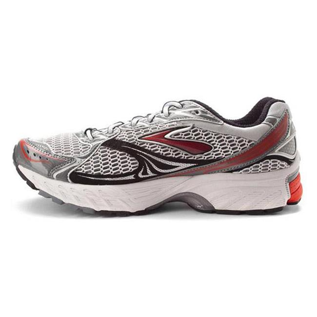 Brooks Ghost 4 White / Orange / Pavement