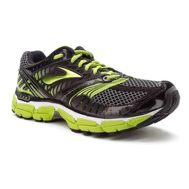 Brooks Glycerin 9 Black / Pavement / Lime Green