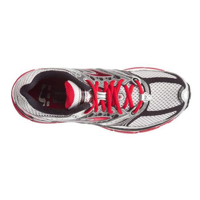 Brooks Glycerin 9 White / Silver / Tango Red