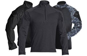 Black Combat Shirts