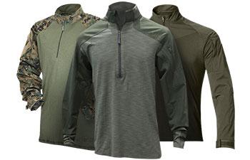 Green Combat Shirts