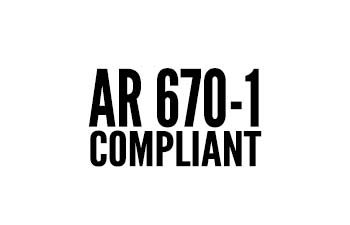 AR-670-1 Compliant Military Boots