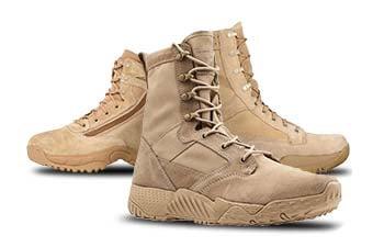 Desert Tan Military Boots