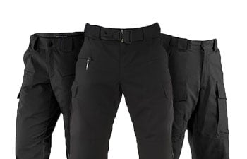 Black Tactical Pants