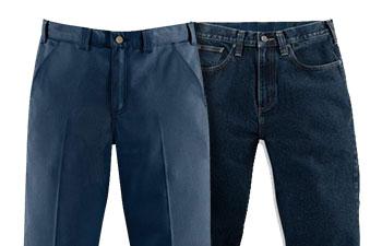 Blue Work Pants