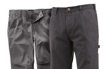Gray Work Pants