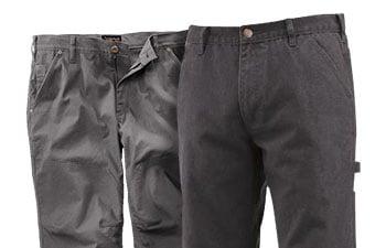 Gray Work Pants