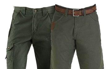 Green Work Pants