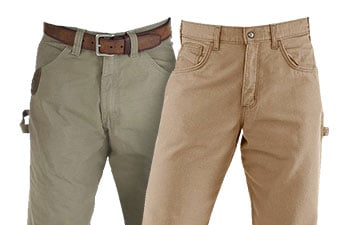 Tan Work Pants