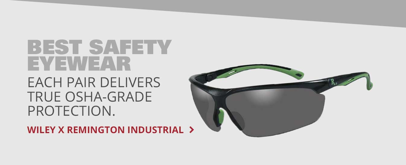 Best Safety Eyewear: Wiley X Remington Industrial