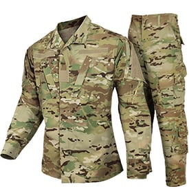 New Army Multicam Uniform 121