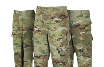 Military Uniform Pants