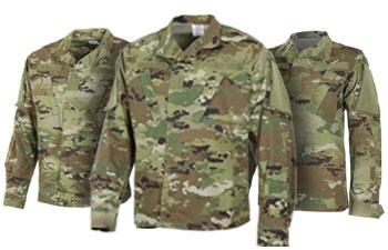 Military Uniform Shirts