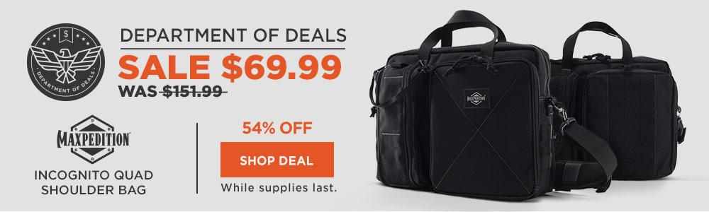 Maxpedition Incognito Quad Shoulder Bag