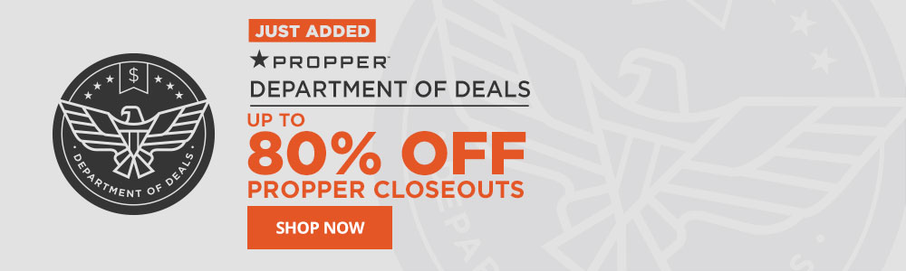 Save up to 80% off on Propper