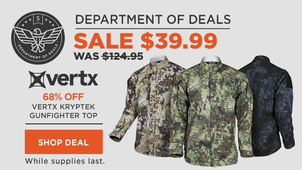 Vertx Kryptek Gunfighter Top