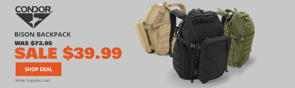 Condor Bison Backpack