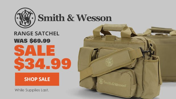 Smith and Wesson Range Satchel