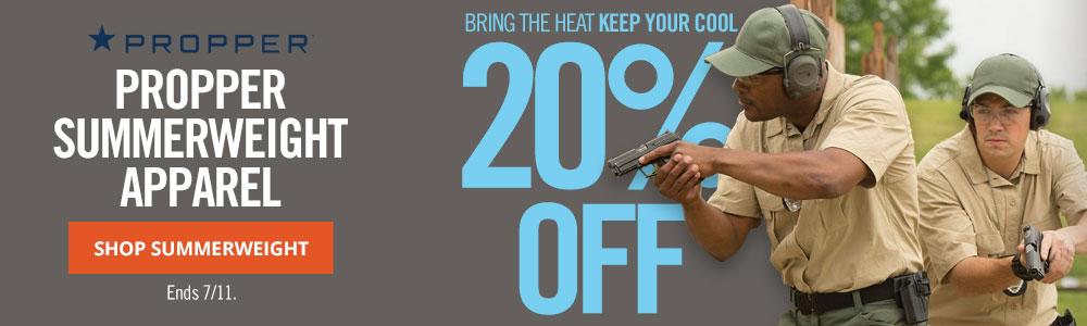 20% Off Propper Summerweight