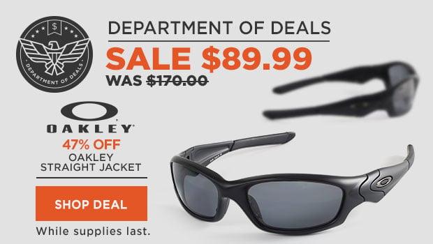 Oakley Straight Jacket