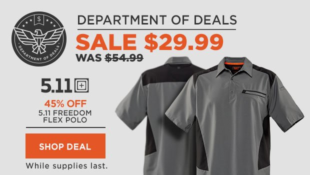 5.11 Freedom Flex Polo