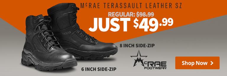 McRae Terassault Leather
