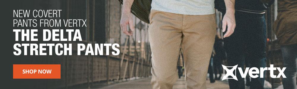 The New Vertx Delta Pants