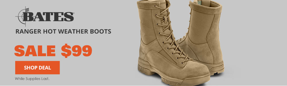 Bates Ranger Hot Weather Boots