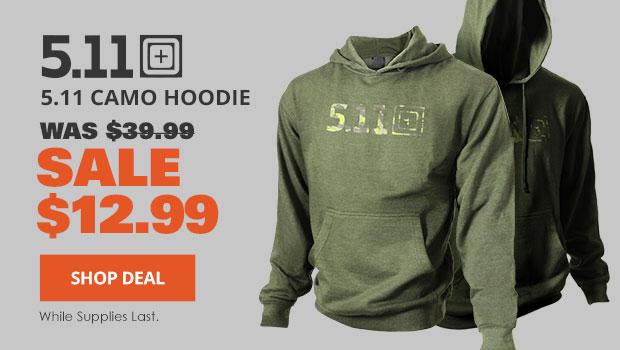 5.11 Camo Hoodie
