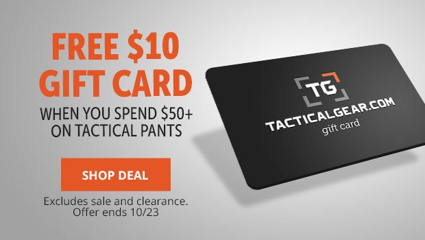 Tactical Pants Promo