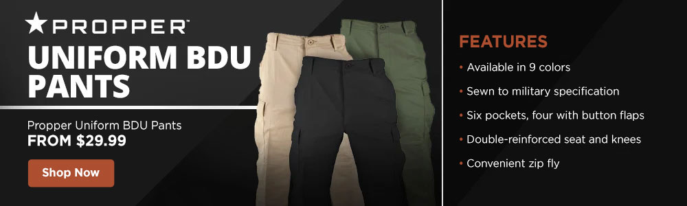 Genuine Gear Poly/Cotton Ripstop BDU Pants