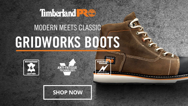 Timberland Pro Gridworks Boots