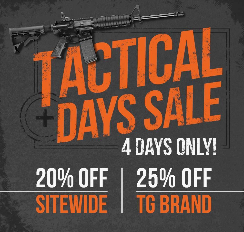 Tactical Days Sale