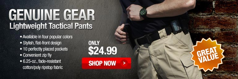 Tactical Pants @ TacticalGear.com