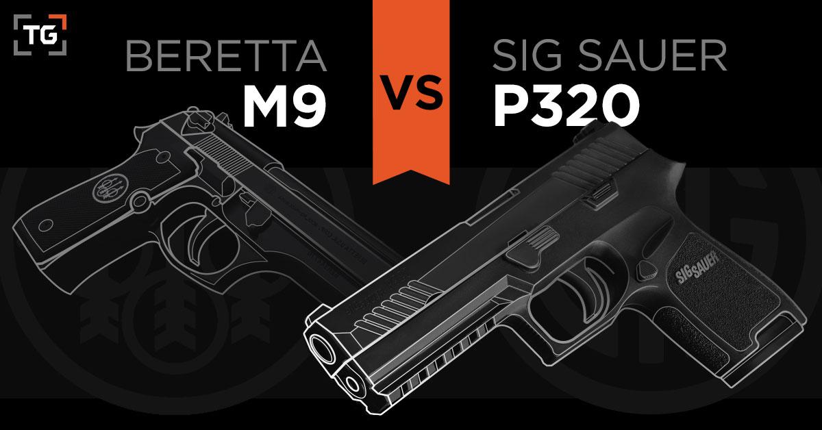 Sig Sauer P320 (M17) vs Beretta M9