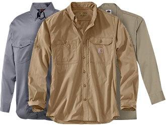 Long-Sleeve Work Shirts